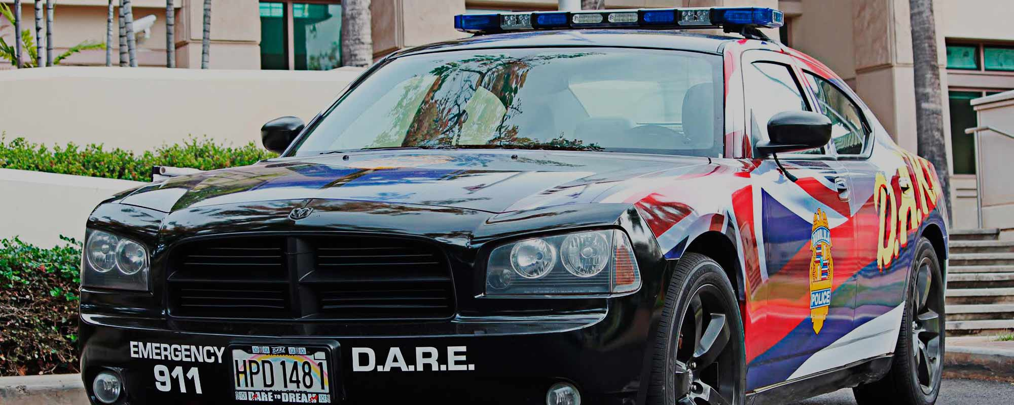 D.A.R.E. Honolulu car